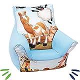 DELSIT universelles Kindersitzsack Kinder Sitzsack Spielzimmer für Jungen und Mädchen