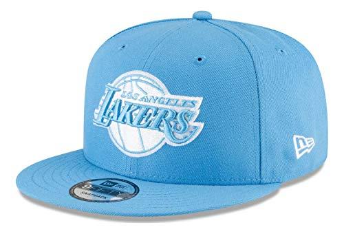 New Era - Gorra NBA Los Angeles Lakers 2020 City Series Alternate 9Fifty Snapback - Azul azul M/L