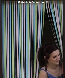 Holland Plastics Original Brand Wohnwagen/Wohnmobil Türvorhang, resistent gegen Bugs und Fliegen. Ideal für Wohnwagen und Wohnmobile - Pastell Mehrfarbig