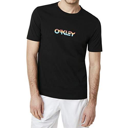 Oakley Herren Pixel B1B Tee Hemd, Blackout, Mittel