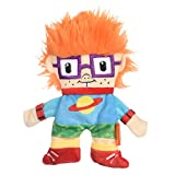 Nickelodeon Rugrats Chuckie Finster Flattie Plush Crinkle Dog Toy | 9 Inch Crinkle Toys for Dogs Nickelodeon Toys - Rugrats Toys for Dogs from Nickelodeon 90s | Nickelodeon Medium Plush Toys for Dogs