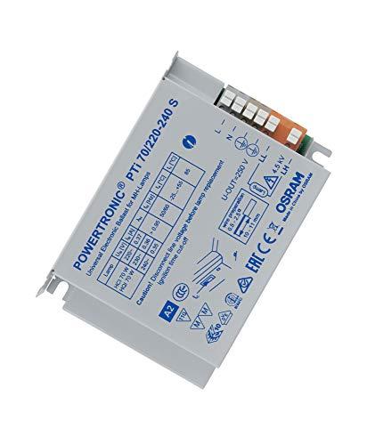 Osram EVG Vorschaltgerät PTi 70 Watt 220-240 Volt Einbaugerät S für CDM / HCI / HQI 70W