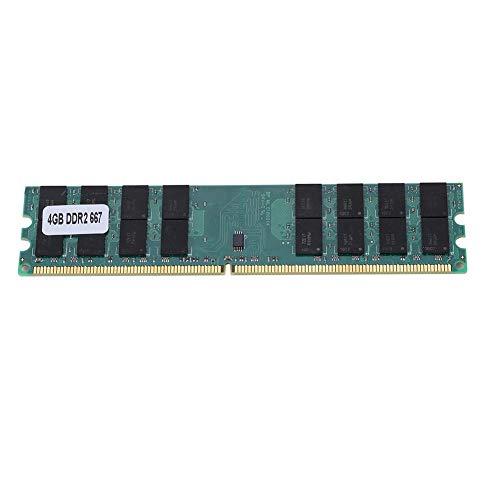 Yunir DDR2 4GB Memoria de Gran Capacidad RAM 240PIN PC2-5300 667MHz Módulo de Memoria de Alta frecuencia para computadora de Escritorio