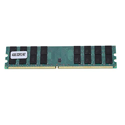 Bewinner DDR2 4GB RAM,DDR2 4GB 667Mhz Módulo de Memoria de Transmisión sin Pérdida,Gran Capacidad RAM 240Pin DDR2 Diseñado para AMD, Plug and Play, No Requiere Controlador