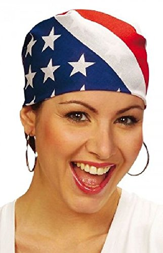 Mondial-fete - Bandana américain 55 x 55 cm