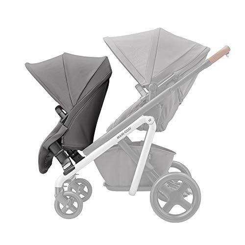 Maxi-Cosi Lila Duo Kit, Extra Sitzeinheit für Maxi-Cosi Lila Kinderwagen, für Geschwister- oder Zwillingskind, nutzbar ab ca. 6 Monate bis ca. 3,5 Jahre (max. 15 kg), grau