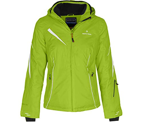 Bergson Damen Skijacke Destiny, Lime Green [242], 36 - Damen