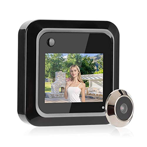 CHENGGONG Sistema di sicurezza domestica 640 x 480P Smart Digital Door Viewer, 0,3 MP per ufficio Hotels for Homes Factory