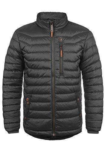 Blend Cemalo Herren Steppjacke Übergangsjacke Jacke mit Stehkragen, Größe:S, Farbe:Phantom Grey (70010)
