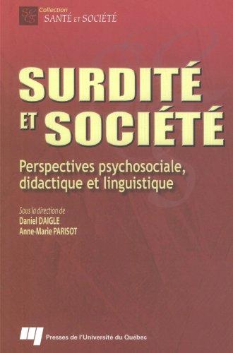 Preisvergleich Produktbild SURDITE ET SOCIETE (SANTE)