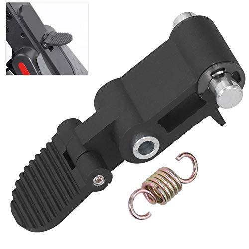 Snufeve6 Interruptor Plegable para Scooter eléctrico, Accesorio para Scooter eléctrico, reemplazo del Interruptor Plegable con Material de aleación de Aluminio Scooter eléctrico