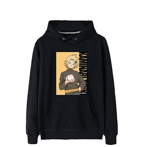 Boku No Hero Academia Kaminari Denki Hoodies Coat Sweater 100% Cotton