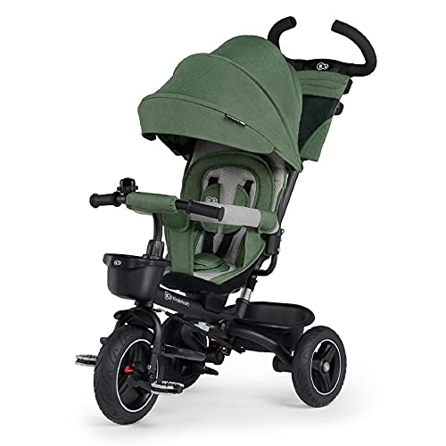 Kinderkraft Tricycle SPINSTEP pastel green - Sillas de paseo, Unisex Infantil, Verde(pastel green)