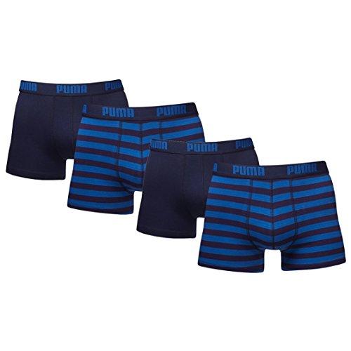 Puma - Boxershorts für Herren, gestreift–(2er Pack), blau