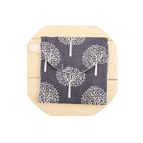 NA Bolsas de Almacenamiento Almohadillas de algodón Paquete Bolsas Monedero Organizador de Joyas Estuche para Tarjetas de crédito Y4