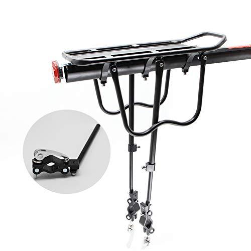 Portaequipajes de bicicleta, Portador de equipaje de bicicletas Carga del estante trasero del estante del ciclismo del asiento del ciclismo del soporte del soporte para 20-29 pulgadas Accesorios para