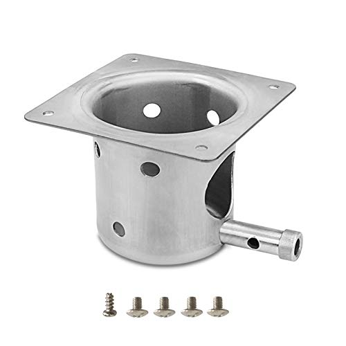 QuliMetal Fire Burn Pot Replacement Parts for Traeger and Most Pit Boss Pellet Grill Burner