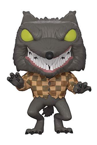 Funko - Disney Nightmare Before Christmas-Wolfman The Figurina, Multicolor, estándar, 32842