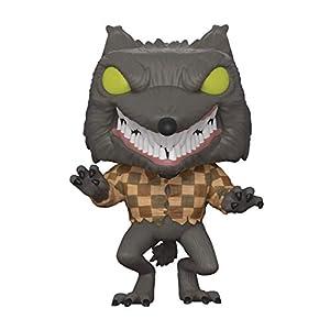 Funko - Disney Nightmare Before Christmas-Wolfman The Figurina, Multicolor, estándar, 32842 8