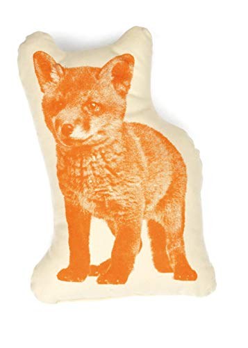 Areaware Pico Pillow Fox Kissen, Stoff, mehrfarbig