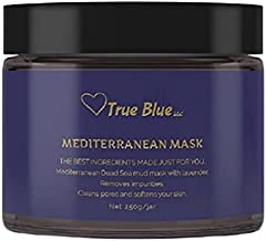 Dead Sea Mud Mask with Lavender | Clean Beauty Organic Skincare for Face and Body | Cleans Pores Purifies Skin Moisturizes | Acne treatment and Blackhead Remover 8.8 Oz.