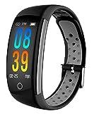IP68 Fitness Tracker Blood Pressure Heat Rate...