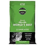 Worlds Best Cat Litter 14lb (6.35kg) Original Unscented