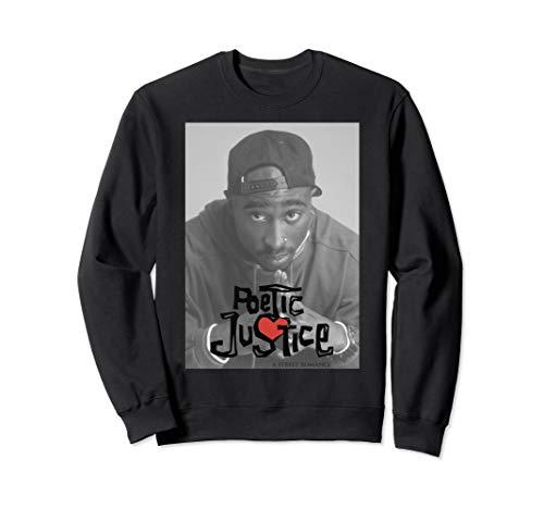 Poetic Justice Tupac Shakur Poster Sweatshirt