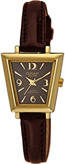 Watch for Women by OMAX, Leather, Analog, OMKC6132GQ0D
