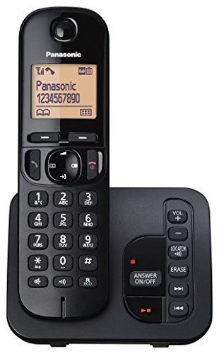 Panasonic Single DECT Phone with Answer System & Nuisance Call Blocking