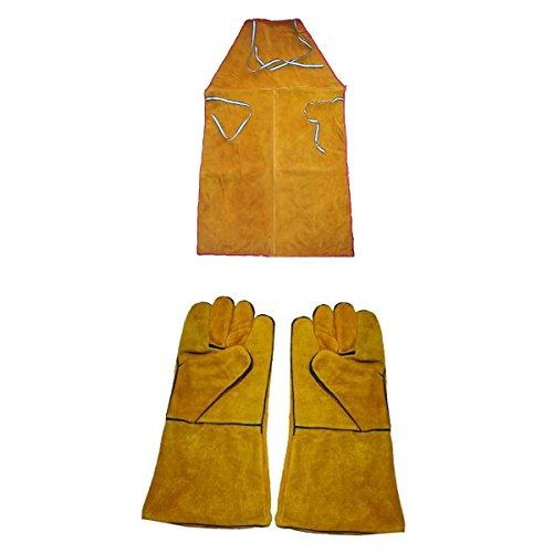 Schürzen Und Handschuhe Zum Schweißen Von Rindsleder Arbeitssicherheit Arbeitskleidung Für Schweißer Und Schweißerinnen, Schwer Entflammbar