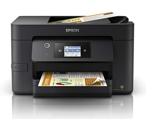 Epson WorkForce WF-3820 All-in-One Wireless Colour Printer with Scanner,...