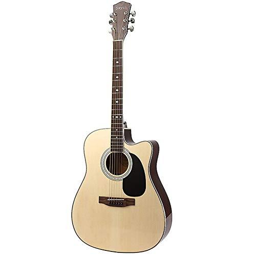 Ning Night Folk Gitarren 41-Zoll-Praxis Gitarre Anfänger Bass Holz-Gitarre Für Anfänger Gitarre Akustikgitarre Konzertgitarre