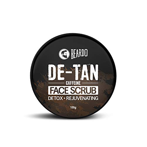 Beardo De-Tan Face Scrub, 100 gm | Tan Removal | Made in India