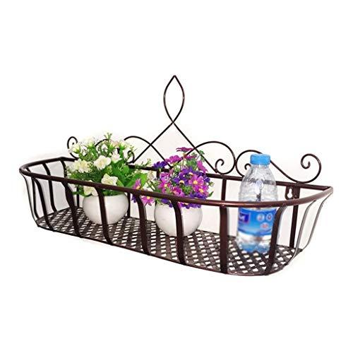 ZTTTD Hängende Wandbehang Blumenständer, Blumenwandhalter Einfache Indoor Green Plant Home Decoration