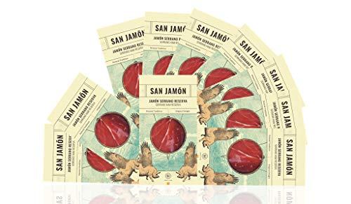 Jamón Serrano Loncheado 10 Sobres de 100 gramos San Jamón