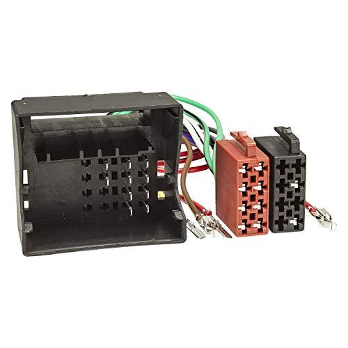 tomzz Audio 7003-012 Câble Adaptateur autoradio Compatible pour Audi VW Skoda Seat Quadlock à la Norme ISO 16pol