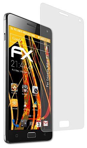 atFolix Panzerfolie kompatibel mit Lenovo Vibe P1 Schutzfolie, entspiegelnde & stoßdämpfende FX Folie (3X)