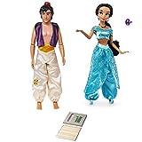 Price Toys Aladdin y Jasmine Colección muñeca clásica de Disney. Exclusivo Incluye Lápiz Set. (Classic Aladdin/Jasmine)