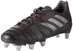 adidas Kakari SG Soft Ground Mens Rugby Union Boot Black - UK 11.5 by adidas