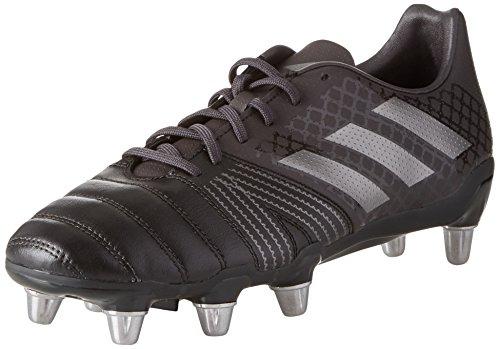 adidas Kakari SG, Scarpe da Rugby Uomo, Nero Core Black Night Met Utility Black, 39 1/3 EU