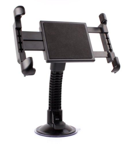 DURAGADGET Soporte para Coche para la Tablet BQ Aquaris M10 Ubuntu Edition 10.1' | HD | Full HD - con Potente Ventosa Y Brazo Articulado