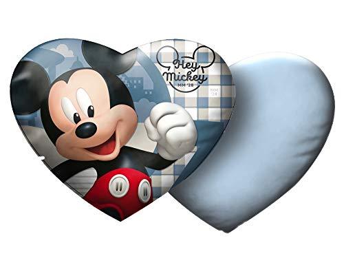 Star Disney Mickey Mouse & Friends Cojín de Terciopelo Impreso, tamaño 35 x 30 cm