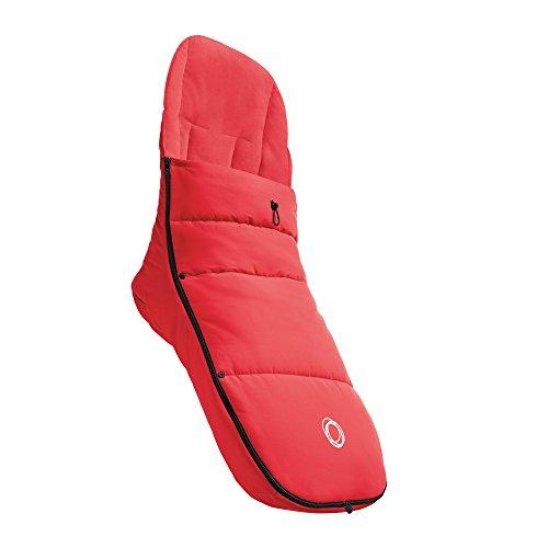 Bugaboo - Saco universal para bicicleta, color rojo neón