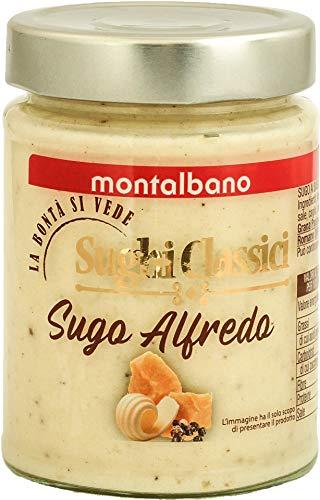 MONTALBANO Sugo Alfredo Per Pasta E Primi Piatti 6 Vasi - 1500 g