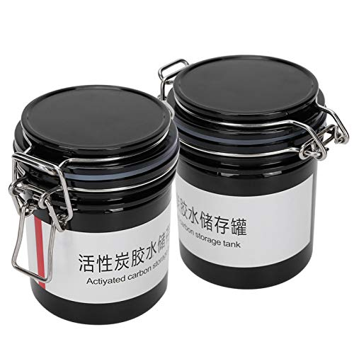 Professional Non-toxic 2pcs Glue Storage Container Eyelash Extension Glue Storage Jar Practical for Home Use