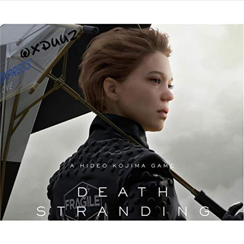 ZzSTX Affiche sur Toile Death Stranding Famille Art Imprime Décoration Toile Peinture Jeu Périphérique Image50X70Cm sans Cadre