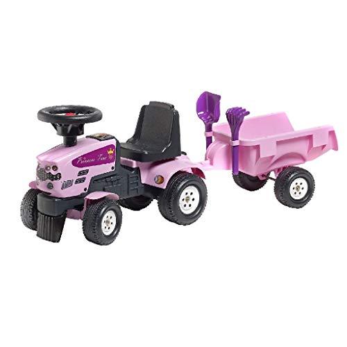 Falk 1086C Traktor und Rac Set 1+, pink