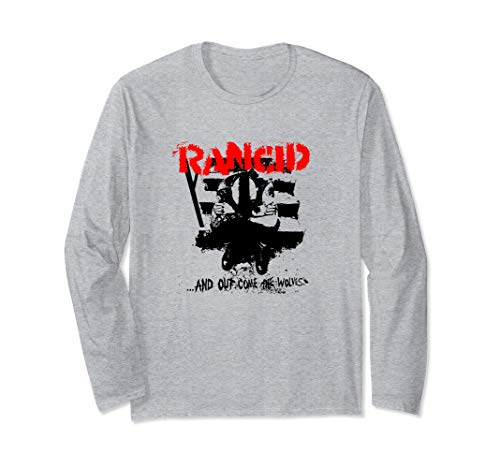Rancid - And Out Come The Wolves - Official Merchandise Langarmshirt