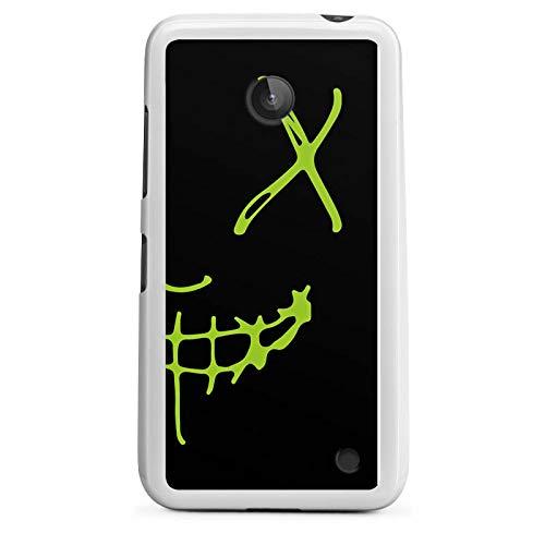 DeinDesign Silikon Hülle kompatibel mit Nokia Lumia 635 Hülle weiß Handyhülle YouTube Motorsport David Bost